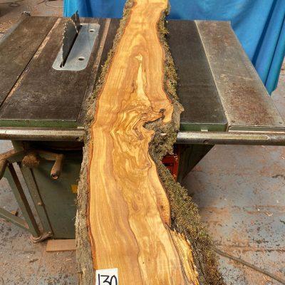 Mediterranean Olivewood Board 1320x190x28-32 mm