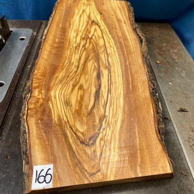Mediterranean Olivewood Board 560x270x28-32 mm
