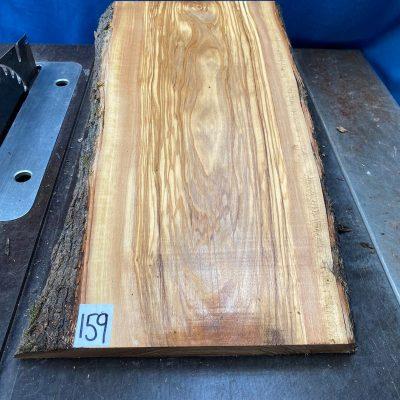 Mediterranean Olivewood Board 530x270x28-32 mm