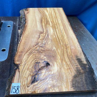 Mediterranean Olivewood Board 530x280x28-32 mm