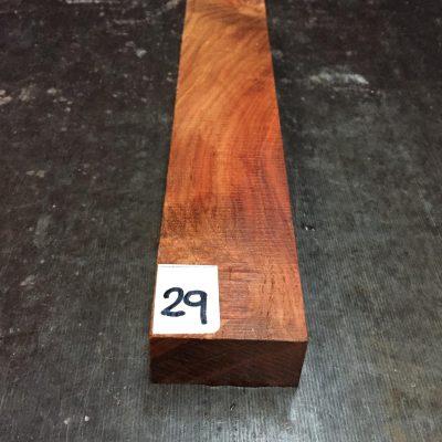 Amboyna Knife Blank 205x40x25 mm