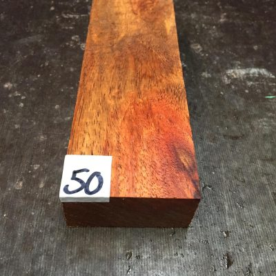 Amboyna Burr Knife Blank 145x50x25 mm