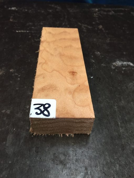 Quilted Maple Knife Blank 150x50x24 mm