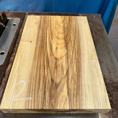 Hackberry (curly/rippled) Body blank 540x360x45 mm