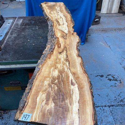 Mediterranean Olivewood Board 1520x290x30 mm