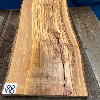 Mediterranean Olivewood Board 480x235x28 mm