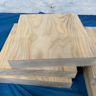 Hackberry 12x12x2 inches
