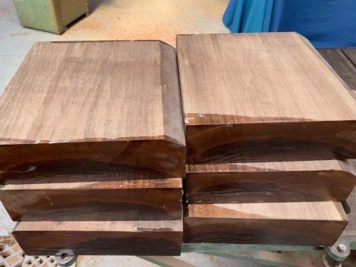 American Walnut 10x10x3 inches