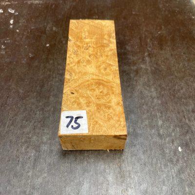 Buckeye Burl Knife Blank 135x45x26 mm