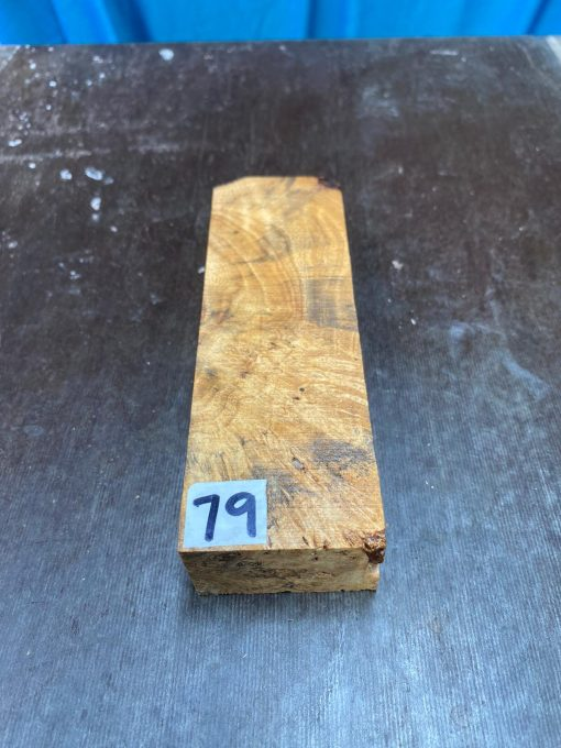 Buckeye Burl Knife Blank 150x47x28 mm