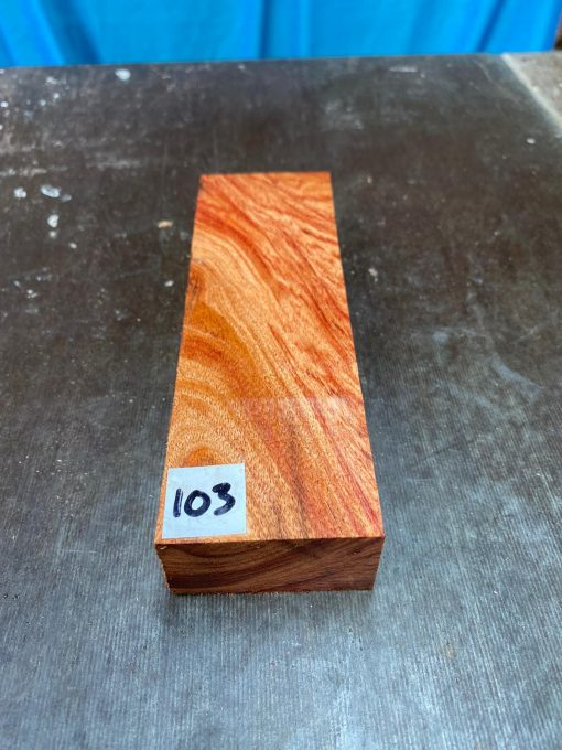 Namibian Rosewood Knife Blank 150x50x25 mm