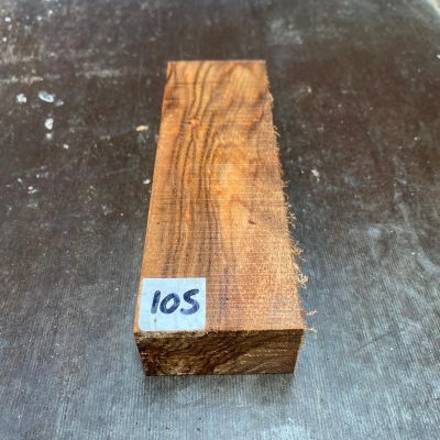Chechen (Caribbean rosewood) Knife Blank 150x50x28 mm