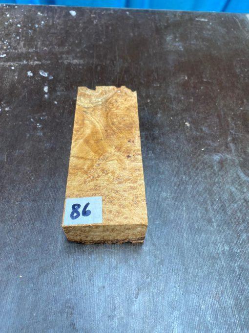 Buckeye Burl Knife Blank 120x47x28 mm