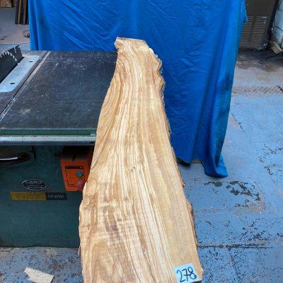 Mediterranean Olivewood Board 1320x200x28 mm