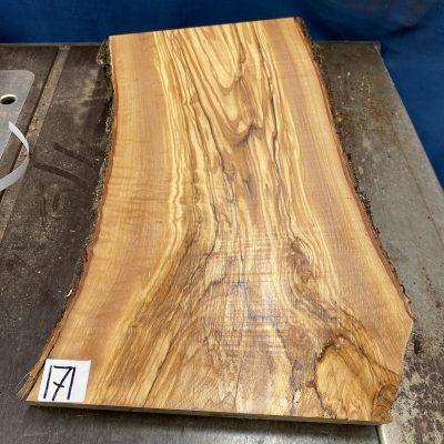 Mediterranean Olivewood Board 460x270x29 mm