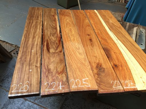 Kiaat short boards