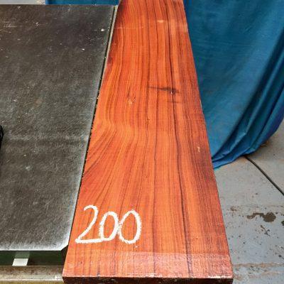 Bolivian Rosewood 775x160x25 mm