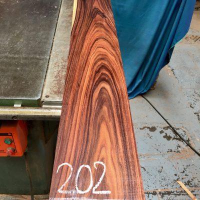 Bolivian Rosewood 1240x150x23 mm