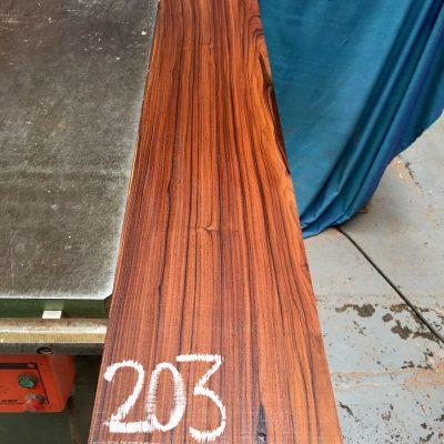 Bolivian Rosewood 1070x170x30 mm