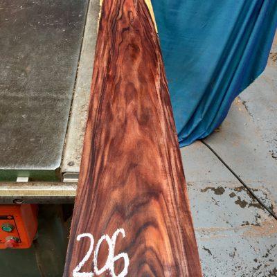Bolivian Rosewood 1190x145x20 mm