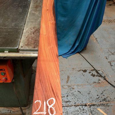 Bolivian Rosewood 1350x85x25 mm