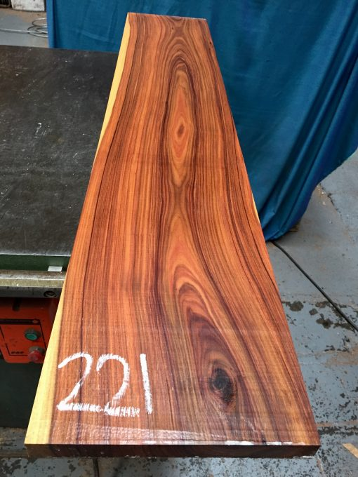 Bolivian Rosewood 1170x220x25 mm