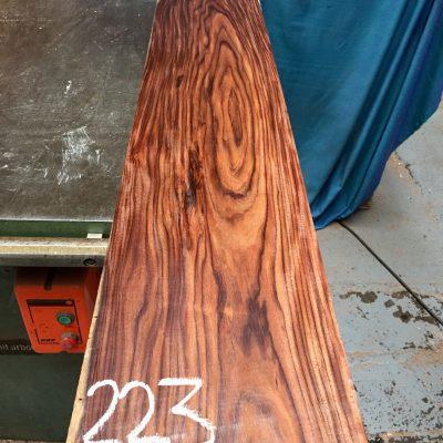 Bolivian Rosewood 1270x205x23 mm