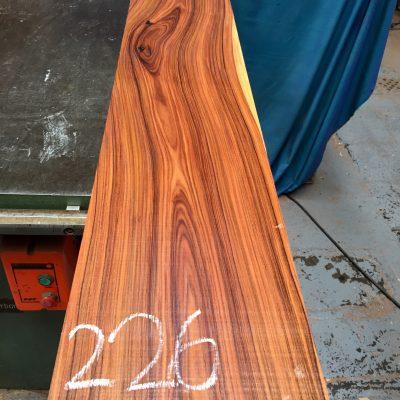Bolivian Rosewood 1330x225x26 mm