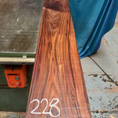 Bolivian Rosewood 1330x180x25 mm