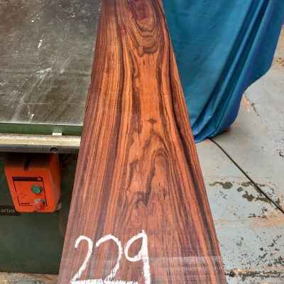 Bolivian Rosewood 1370x180x25 mm