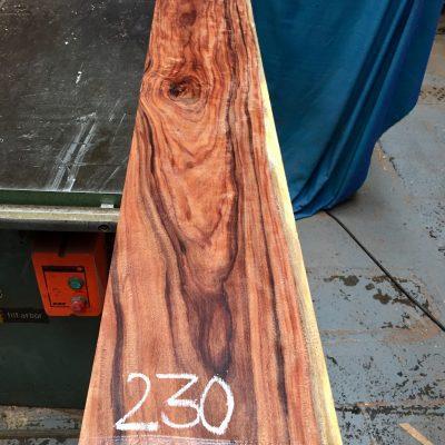 Bolivian Rosewood 1380x200x31 mm