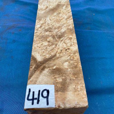 Maple Burr (Premium) 3x3x12 inches