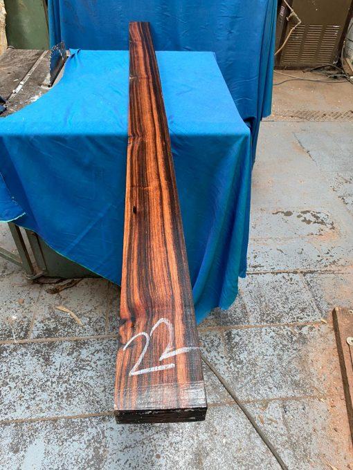 Macassar Ebony 1850x100x40 mm