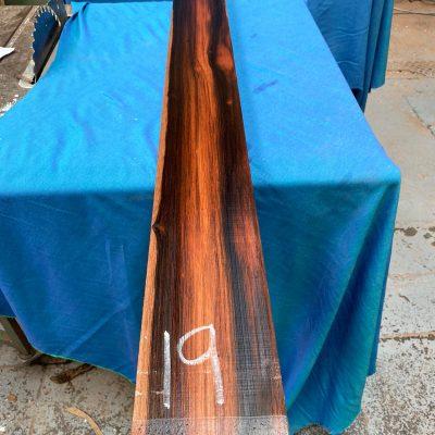 Macassar Ebony 1410x125x42 mm