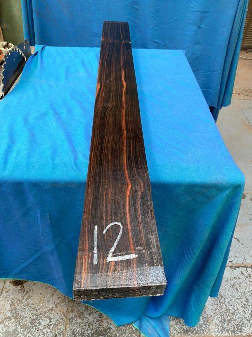 Macassar Ebony 1230x115x35 mm