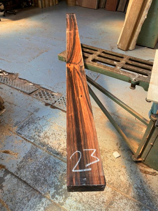 Macassar Ebony 1870x100x38 mm