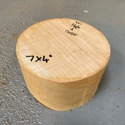Figured Maple 7x4 inches