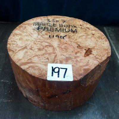 Maple Burr (Premium) 7x3.5 inches