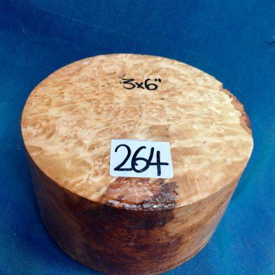 Maple Burr (Premium) 6x3 inches