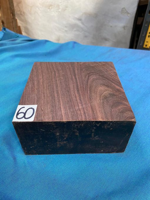 Indian Rosewood 6x6x3 inches