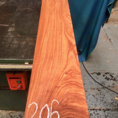 Namibian Rosewood 1250x200x25 mm