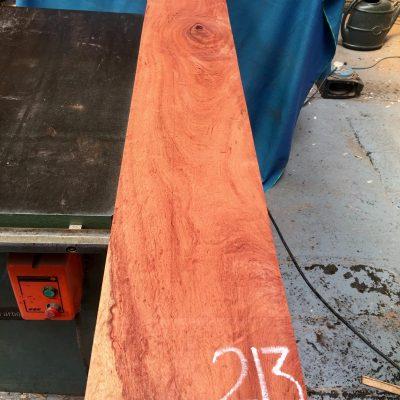 Namibian Rosewood 1450x200x25 mm