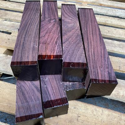 Indian Rosewood 2x2x12 inches