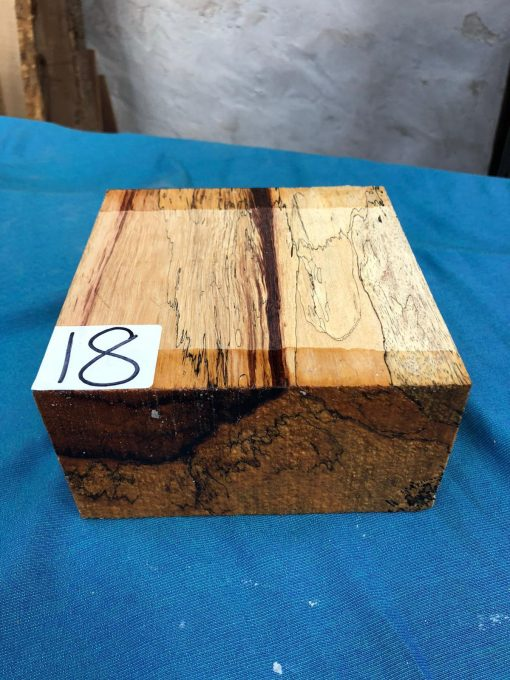 Spalted Tamarind 6x6x3 inches