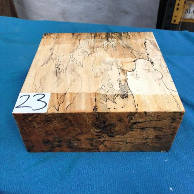 Spalted Tamarind 8x8x3 inches