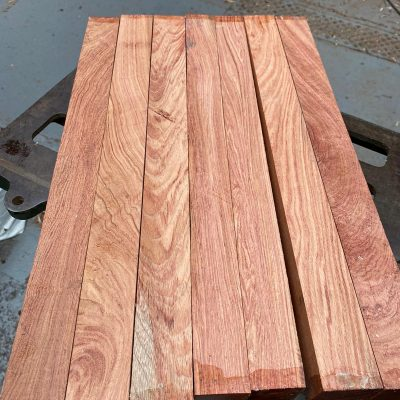 Namibian Rosewood 1.5x1.5x18 inches