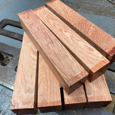 Namibian Rosewood 2x2x12 inches