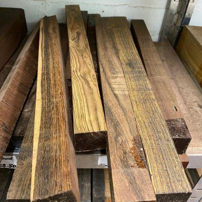 Bocote 1.5x1.5x18 inches (Reject grade)