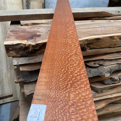 Leopardwood 1570x125x25mm