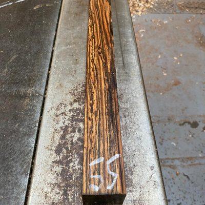 Bocote 1.5x1.5x18 inches